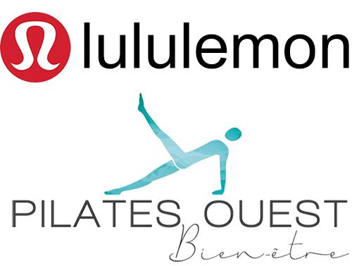 lululemon & Pilates Ouest Bien-être collaborent