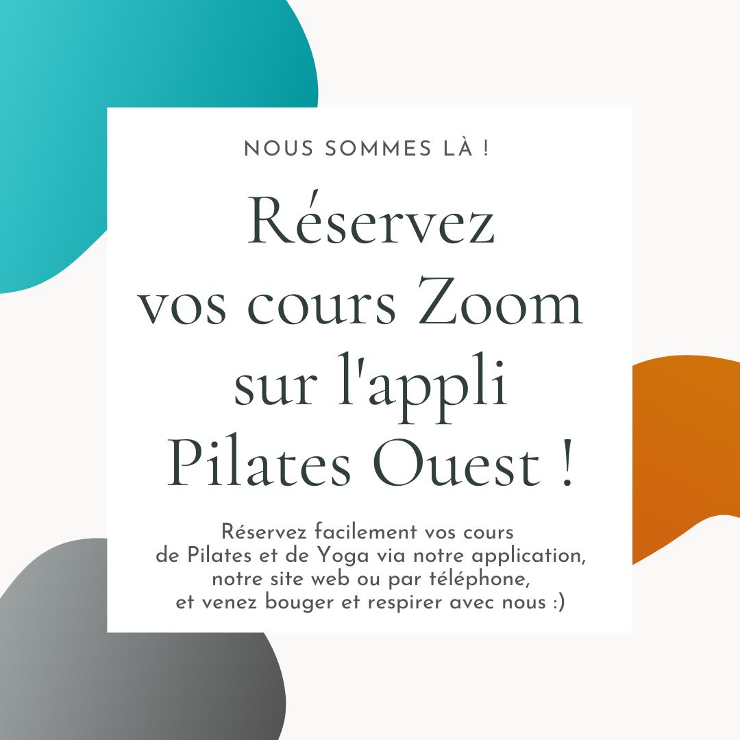 Pilates et Yoga via ZOOM